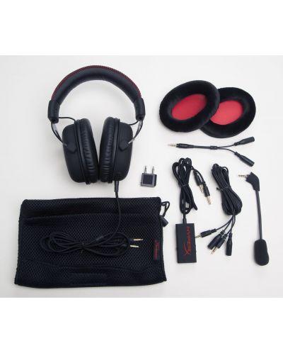 Гейминг слушалки Kingston HyperX Cloud - черни - 5