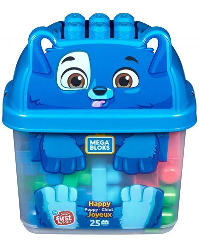 Конструктор в кутия Mega Bloks - Кученце - 1