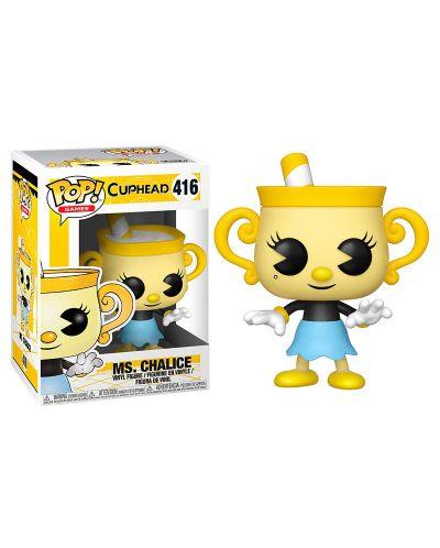 Фигура Funko Pop! Games: Cuphead - Ms. Chalice, #416 - 2
