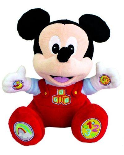 Интерактивна играчка Clementoni - Сладко бебе Мики Маус - 1