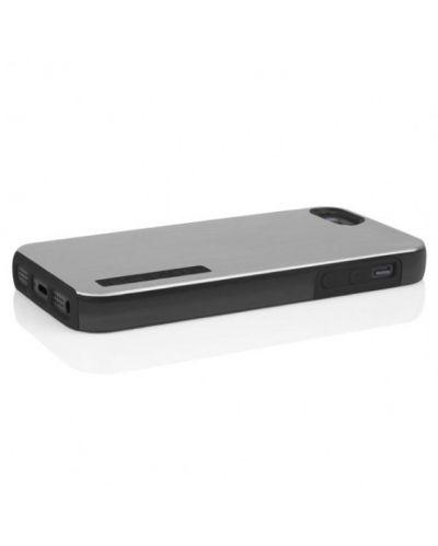 Калъф Incipio Dual Pro Shine за iPhone 5, Iphone 5s -  сиво-черен - 3