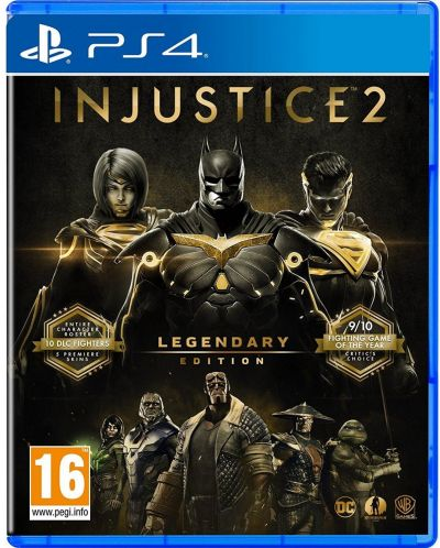 Injustice 2 Legendary Edition (PS4) - 1