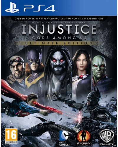Injustice: Gods Among Us - Ultimate Edition (PS4) - 1