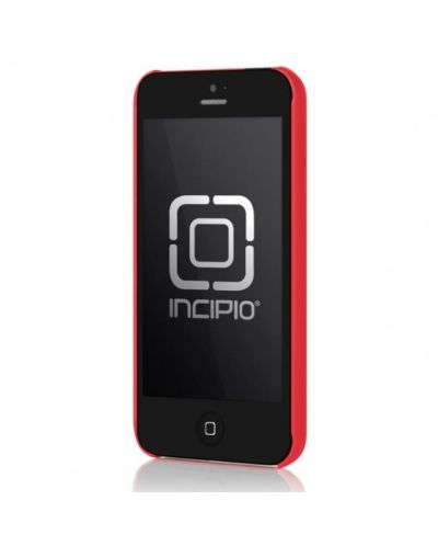 Калъф Incipio Feather за iPhone 5, Iphone 5s -  червен - 2