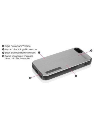 Калъф Incipio Dual Pro Shine за iPhone 5, Iphone 5s -  сиво-черен - 5