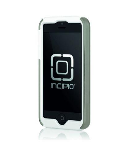 Калъф Incipio Dual Pro Shine за iPhone 5, Iphone 5s -  сиво-бял - 2