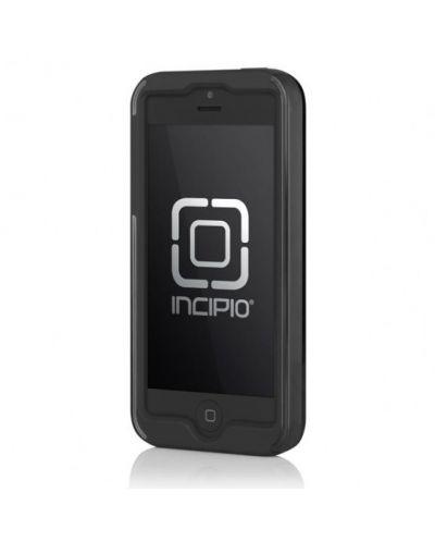 Калъф Incipio Dual Pro Shine за iPhone 5, Iphone 5s -  сиво-черен - 2
