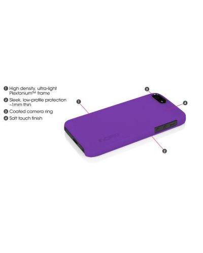 Калъф Incipio Feather за iPhone 5, Iphone 5s -  червен - 5