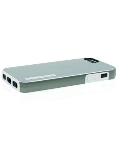 Калъф Incipio Dual Pro Shine за iPhone 5, Iphone 5s -  сиво-бял - 4