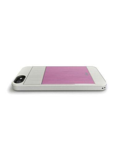 iSkin Aura за iPhone 5 -  розов - 2
