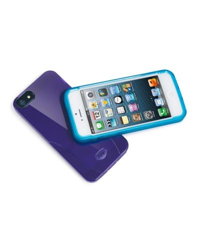 iSkin Solo за iPhone 5 -  лилав - 2