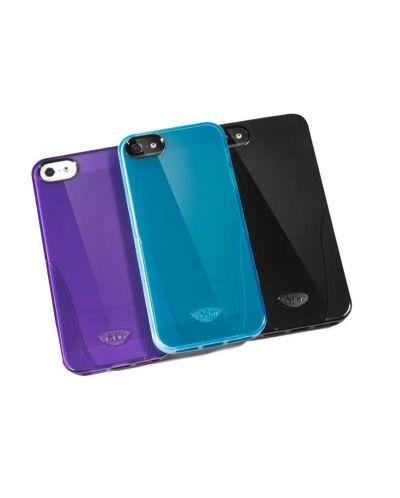 iSkin Solo за iPhone 5 -  лилав - 5