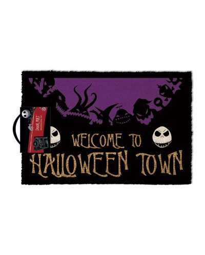 Изтривалка за врата Pyramid - Nightmare Before Christmas - Halloween Town, 60 x 40 cm - 1