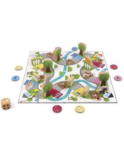 Детска състезателна настолна игра Janod - Гонки - 3