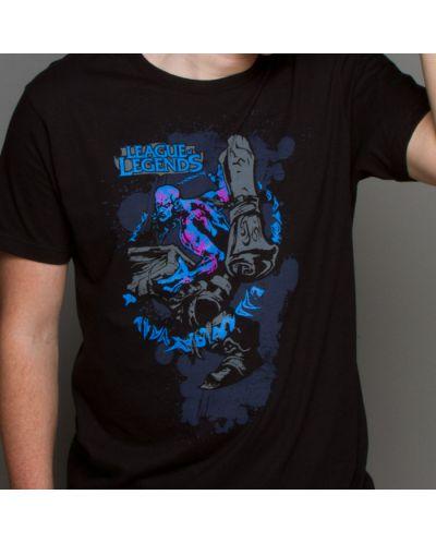 Тениска Jinx League of Legends - Ryze Premium, черна, размер XL - 2