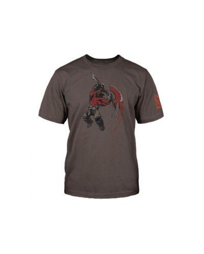 Тениска Dota 2 Axe + Digital Unlock, сива, размер S - 3