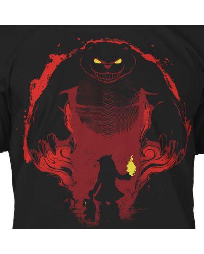 Тениска Jinx League of Legends - Have You Seen My Tibbers? Premium, черна, размер L - 4