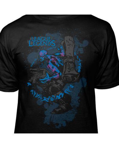 Тениска Jinx League of Legends - Ryze Premium, черна, размер XL - 4