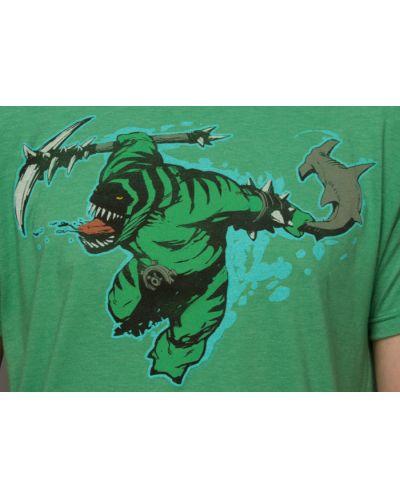 Тениска Dota 2 Tidehunter + Digital Unlock, зелена, размер M - 4