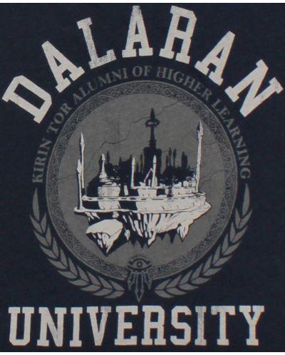Тениска Jinx World of Warcraft Dalaran University, синя - 6