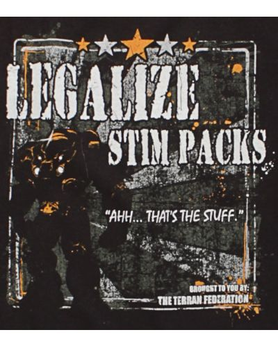 Jinx StarCraft Legalize Stim Packs - S - 4
