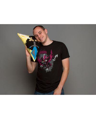 Тениска Jinx League of Legends - Chogath, черна, размер S - 2