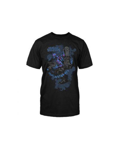 Тениска Jinx League of Legends - Ryze Premium, черна, размер XL - 1