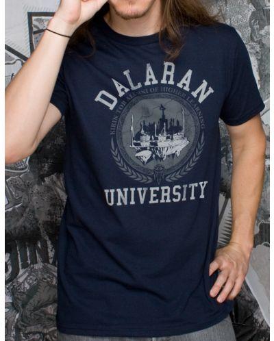 Тениска Jinx World of Warcraft Dalaran University, синя - 5