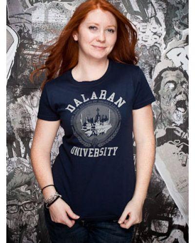 Тениска Jinx World of Warcraft Dalaran University, синя - 3