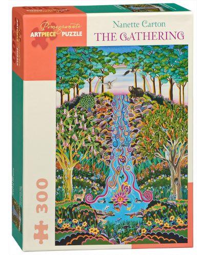 Пъзел Pomegranate от 300 части - Събирането, Нанет Картън - 1