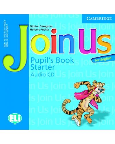 Join Us for English Starter Pupil's Book Audio CD - 1