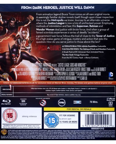 Justice League: Gods and Monsters (Blu-Ray) - 2