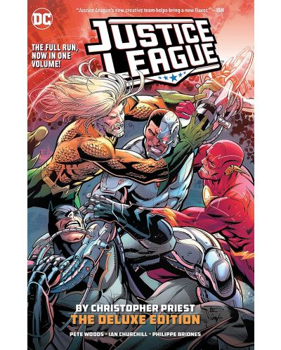 Justice League by Christopher Priest Deluxe Edition - 1