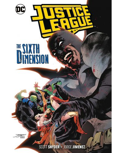 Justice League Vol. 4: The Sixth Dimension - 1