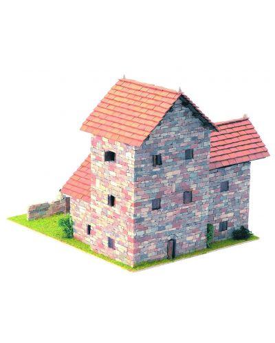 Сглобяем модел Domus Kits - Къща Рустика 5, Макет с истински тухли - 2