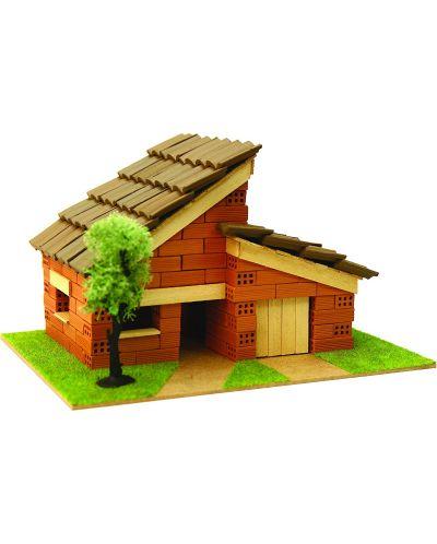 Сглобяем модел Domus Kits - Къща с истински тухли, комплект за начинаещи 5 - 1