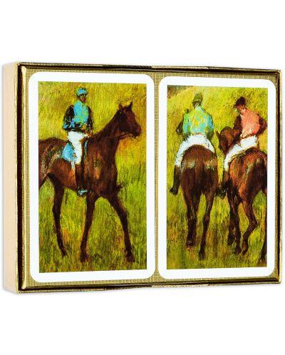 Карти за игра Piatnik - Degas - Before the Race (2 тестета) - 2