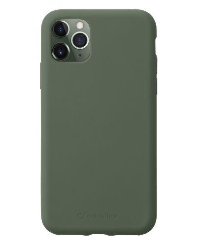 Калъф за iPhone 11 Pro Cellularline - Sensation, зелен - 1