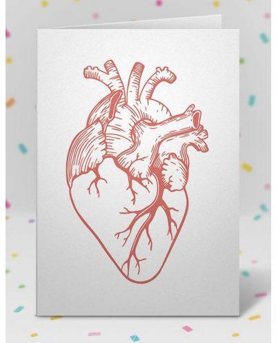 Картичка Мазно.бг - Анатомично сърце-1 - 2