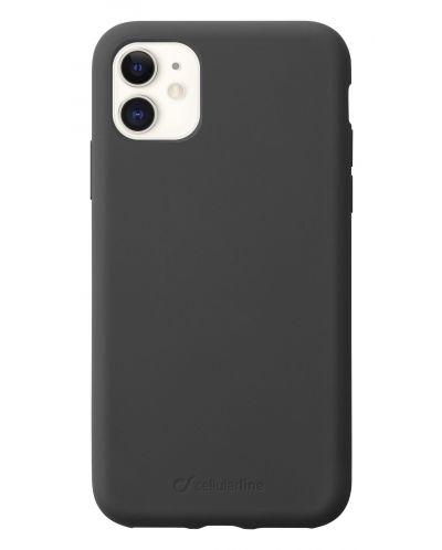 Калъф за iPhone 11 Cellularline - Sensation, черен - 1