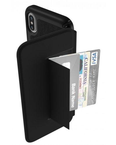 Калъф Speck Presidio Folio - за iPhone X, кожен, черен - 9