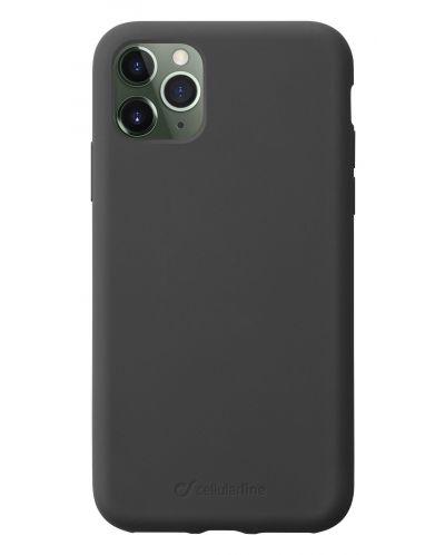 Калъф за iPhone 11 Pro Cellularline - Sensation, черен - 1