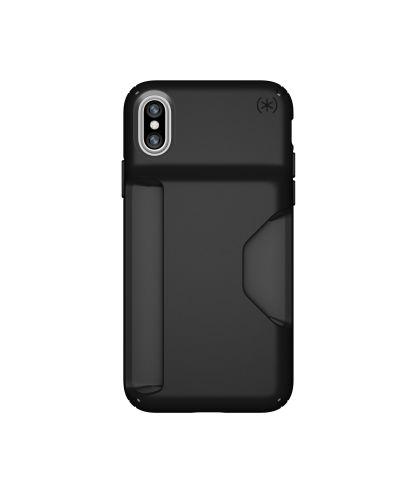 Калъф Speck iPhone X Presidio Wallet - Black/Black - 1