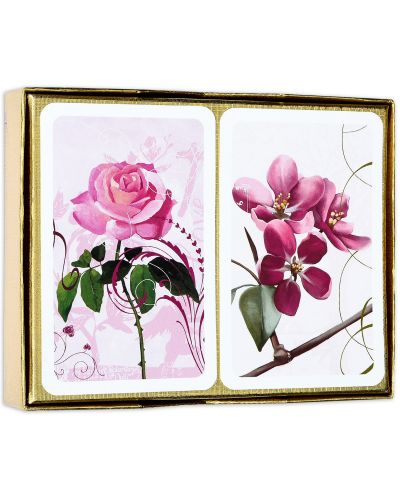 Карти за игра Piatnik - Ruby Roses (2 тестета) - 2