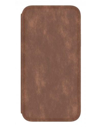 Калъф Speck Presidio Folio - за iPhone X, кожен, кафяв/сив - 2
