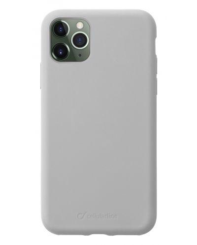 Калъф за iPhone 11 Pro Cellularline - Sensation, сив - 1