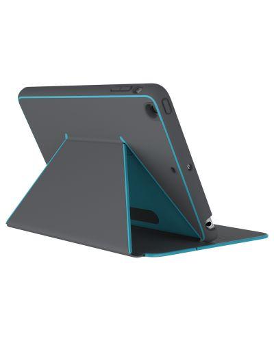 Калъф Speck iPad Mini 4 DuraFolio Slate Grey/Peacock Blue - 1