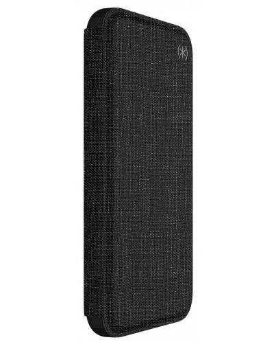Калъф Speck iPhone X Presidio Folio - Heathered Black/Black/Slate Grey - 2
