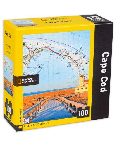 Мини пъзел New York Puzzle от 100 части - Кейп Код - 2