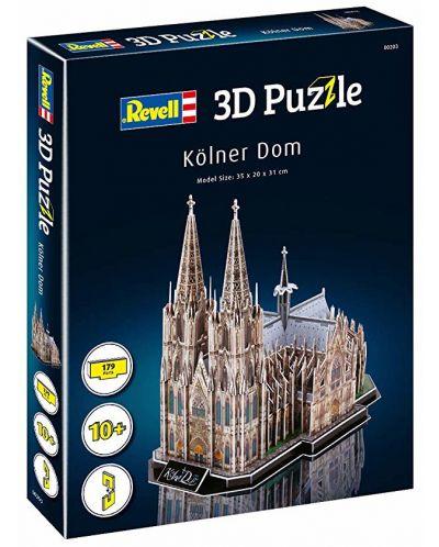 3D Пъзел Revell - Кьолнската катедрала - 2